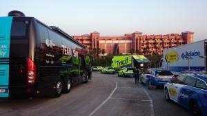 Vuelta ciclista a Andalucía 2016, Benalmádena Costa, Málaga, Holiday World hotels