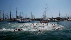 aguas abiertas drafting natación